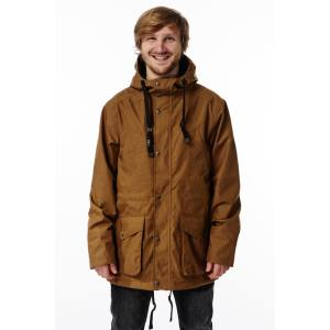 Light Summit Jacket 2018 Bone Brown Gr. S Mens Snowboardjacke