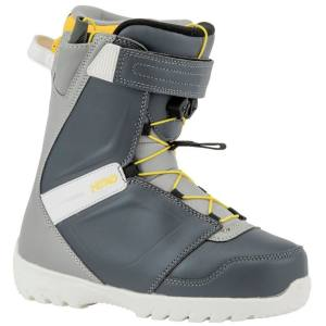 Nitro DROID QLS Kinder Softboot 2020 Blue Grey Gr. 23,5 Jugend Snowboardboot