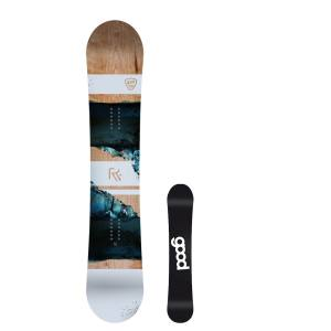 Goodboards Reload 2021 162cm Wide Mens All Mountain Snowboard