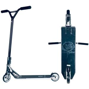 AO Worldwide Complete Stunt Scooter 5.8 x 22 silver Parkscooter Streetscooter