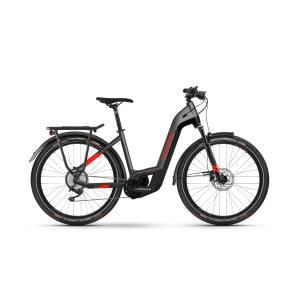 Haibike Trekking 9  i625 Wh LowStep 2021 E-Bike Citybike Gr. M (50cm) Pedelec anthracite/red
